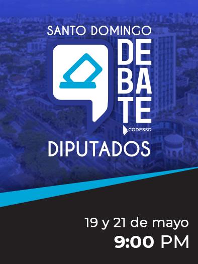 Santo Domingo Debate Diputados