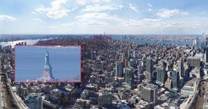(VIDEO) Así se ve la foto de 126,000 megapíxeles tomada en NY