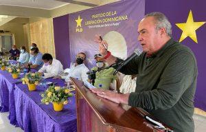 Charles Mariotti pide a dirigentes PLD ser creativos para incorporar nuevos miembros