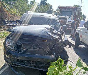 Dos hermanos mueren en accidente de tránsito en Miches; Uno de ellos pertenecía a la PN