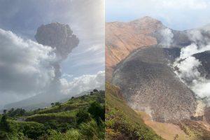 Advierten que la actividad del volcán de San Vicente y Granadinas no terminó