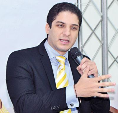 . Gabriel José García, Subcoordinador Cibao Central del CRD.