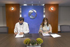 CEPM, CEB, Energas y NUVI firman convenio para contribuir al cuidado del medio ambiente