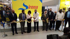 (VIDEO) Presidente Abinader encabeza inauguración tienda La Sirena en Los Alcarrizos