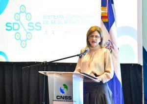 (VIDEO) Vicepresidenta Raquel Peña presenta Plan Estratégico del SDSS 2021-2024
