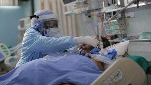 Costa Rica sigue marcando récords de personas hospitalizadas por covid-19