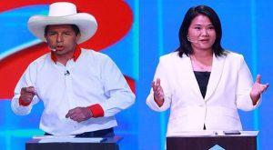 Los candidatos Castillo y Fujimori se retan para debatir en cárcel de Lima