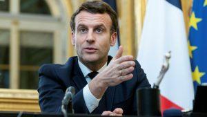 Presidente francés insiste en que EE.UU. y Londres exporten vacunas