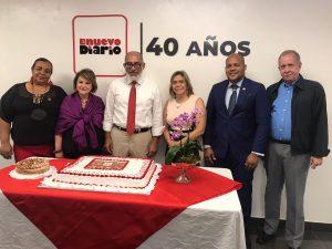 Más que una celebración: El Nuevo Diario vuela alto en sus primeros 40 años