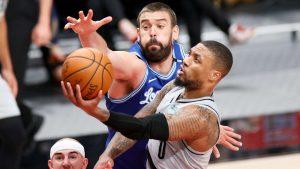 (VIDEO) Lillard gana duelo a Davis y Trail Blazers a Lakers