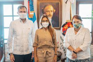 ADN y Embajada de Estados Unidos unen esfuerzos para abordar temas de seguridad y gobernanza local