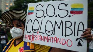 Buscan en Colombia a 168 personas reportadas como desaparecidas en protestas