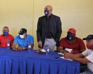 Batista explica a Fedobe funciones del Comisionado de Pequeñas Ligas de Béisbol
