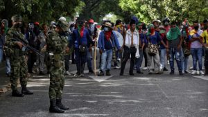 """CIDH expresa """"profunda preocupación"""" por ataque a marcha indígena en Colombia"""