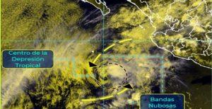 Tormenta tropical Andrés se degrada a depresión tropical y se aleja de México