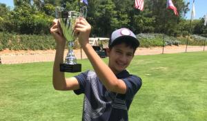 Omar Faruk Elías gana categoría 11-12 Campeonatos Nacionales