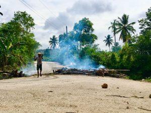 Comunitarios de El Limón Samaná reclaman libre acceso a playa Las Canas