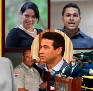 Adán Cáceres y demás implicados en caso Coral fueron trasladados esta madrugada a Najayo