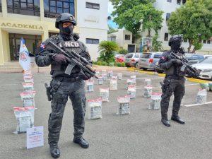 DNCD ocupa 456 paquetes de presumible cocaína en finca de Samaná; detienen hombre pero no revelan identidad