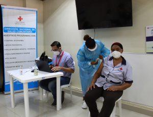 Convocan jornada de vacunación en Cruz Roja Dominicana