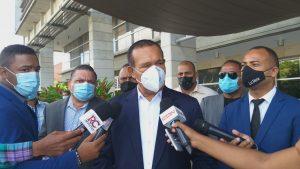 """(VIDEO) Senador Antonio Marte presenta querella contra exfuncionarios por """"desaparición"""" de fondos"""