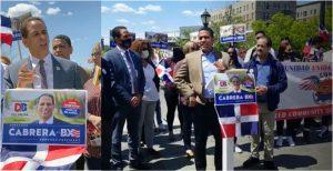 Líderes políticos y activistas dominicanos respaldan concejal Cabrera a presidencia de El Bronx