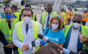 R. Dominicana recibe el segundo lote  de vacunas por el mecanismo COVAX