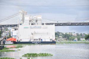 El TSA conocerá este viernes acción de amparo busca paralizar operación de barcaza en río Ozama