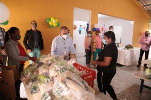 INABIE mantendrá entrega de alimentos crudos en el reinicio de las clases semipresenciales