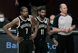 Durant e Irving evitan sorpresa y Nets aseguran segundo puesto