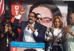 Alix Pérez: Primer y único dominicano aspira presidencia Manhattan inaugura comando campaña