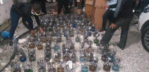 Autoridades confiscan 119 hookahs en centros de diversión en el Ensanche Ozama