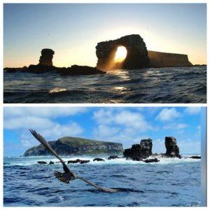 Colapsa el Arco de Darwin, icono geológico y turístico de las Galápagos