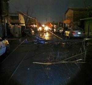 Una tormenta deja sin luz a 157.228 usuarios del noreste de México