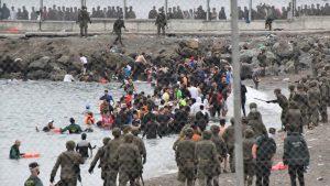(VIDEO) España moviliza al Ejército para frenar la oleada migratoria desde Marruecos
