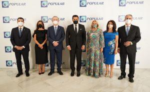 Banco Popular ofrece cena de gala al sector hotelero presente en la FITUR