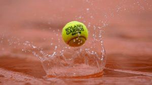 La lluvia suspende ochos partidos de Roland Garros