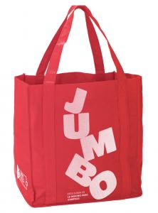 Jumbo lanza bolsas reusables y adopta medidas para el cuidado del medioambiente