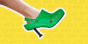 Crocs con tacón de Balenciaga enloquecen las redes sociales