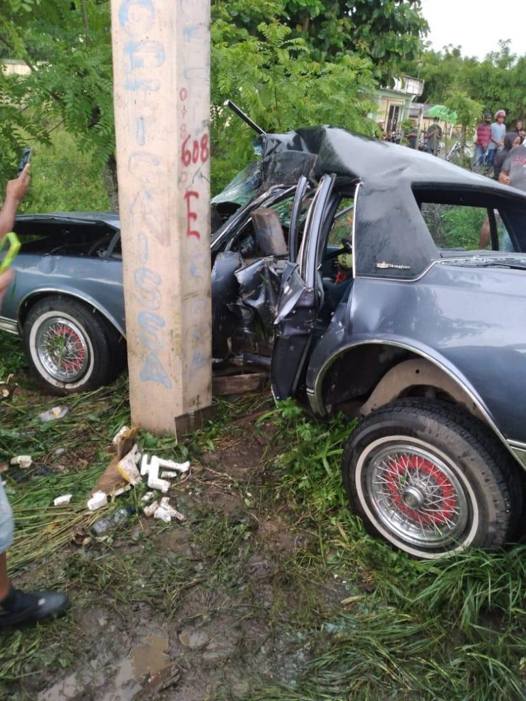 Muere en accidente de tránsito gerente general del trasporte Bonao-Santiago Chio