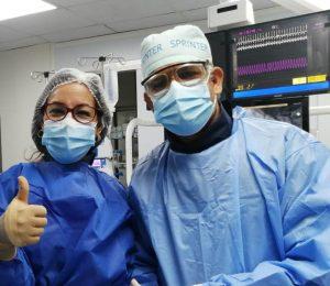 Equipo médico de Modermca logra con éxito intervención a bebé de 14 días con cardiopatía