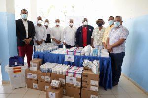 Gabinete de Política Social canaliza donación de medicamentos e insumos médicos