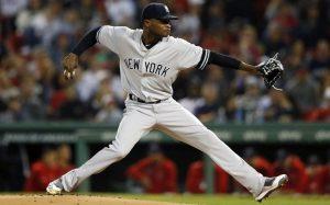 """Filis derrotan a Germán y """"barren"""" a los Yankees"""