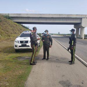 Director regional DIGESETT realiza inspección en tramo carretero autopista El Coral