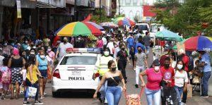 Panamá continúa con alza diario de positivos por la covid-19