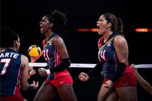 Reinas del Caribe vencen 3-1 a Holanda en LN; la desplazan del 7mo lugar en ranking mundial