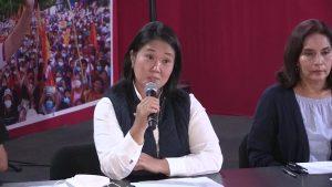 Un centenar de seguidores de Fujimori denuncia un supuesto fraude ante la ONU
