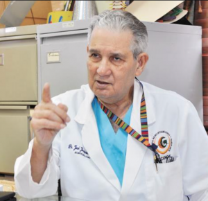 """Doctor José Joaquín Puello: """"El COVID mata y la gente cree que no"""""""