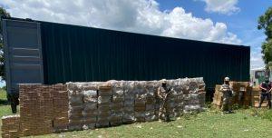 (VIDEO) Cesfront incauta tres millones de cigarrillos introducidos de contrabando desde Haití