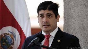 """Alvarado está """"dolido"""" e """"indignado"""" por caso de corrupción en Costa Rica"""